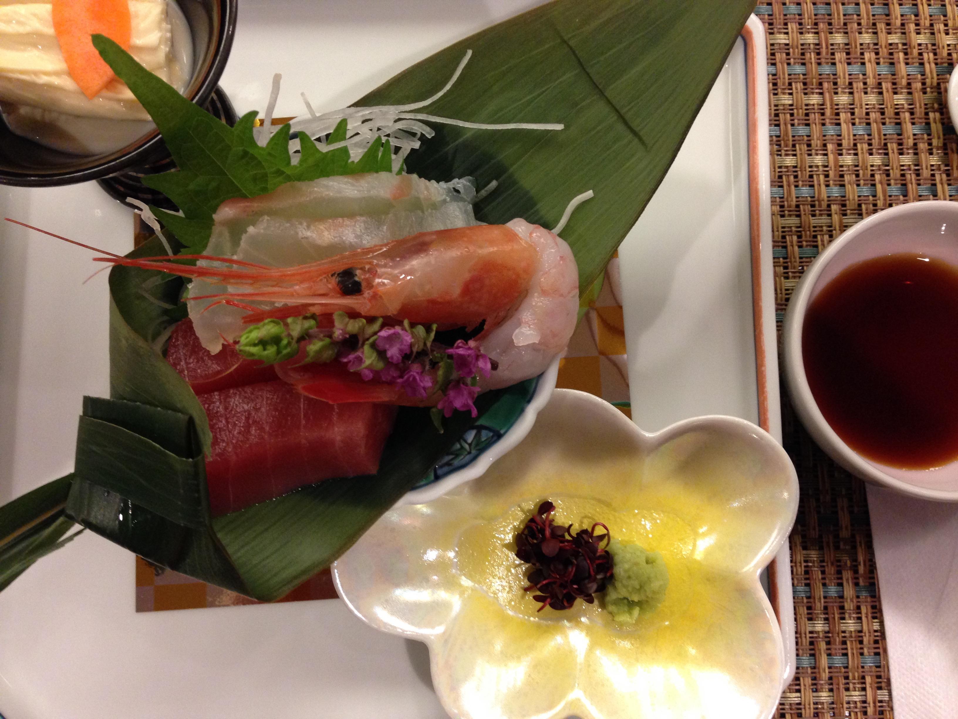 La cena kaiseki al ryokan