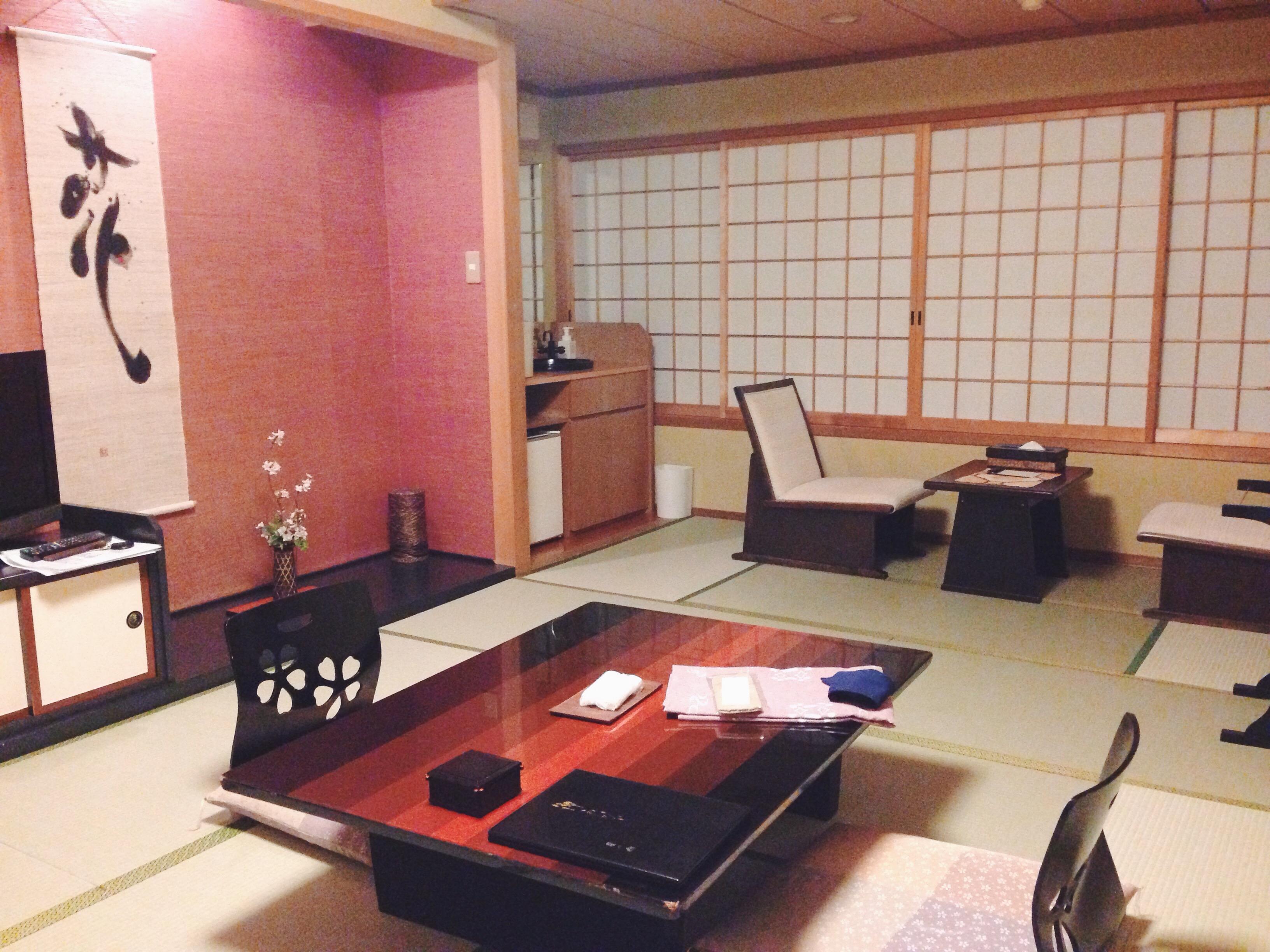 La nostra camerina al ryokan di Nikko