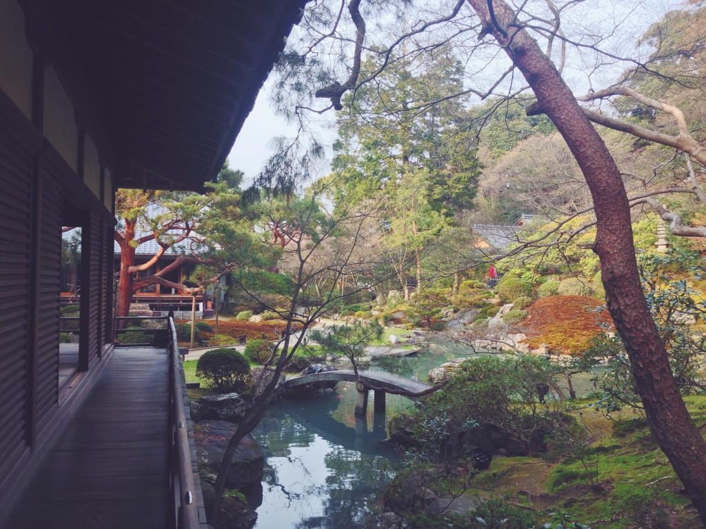 I giardini del Tempio Shoren-in