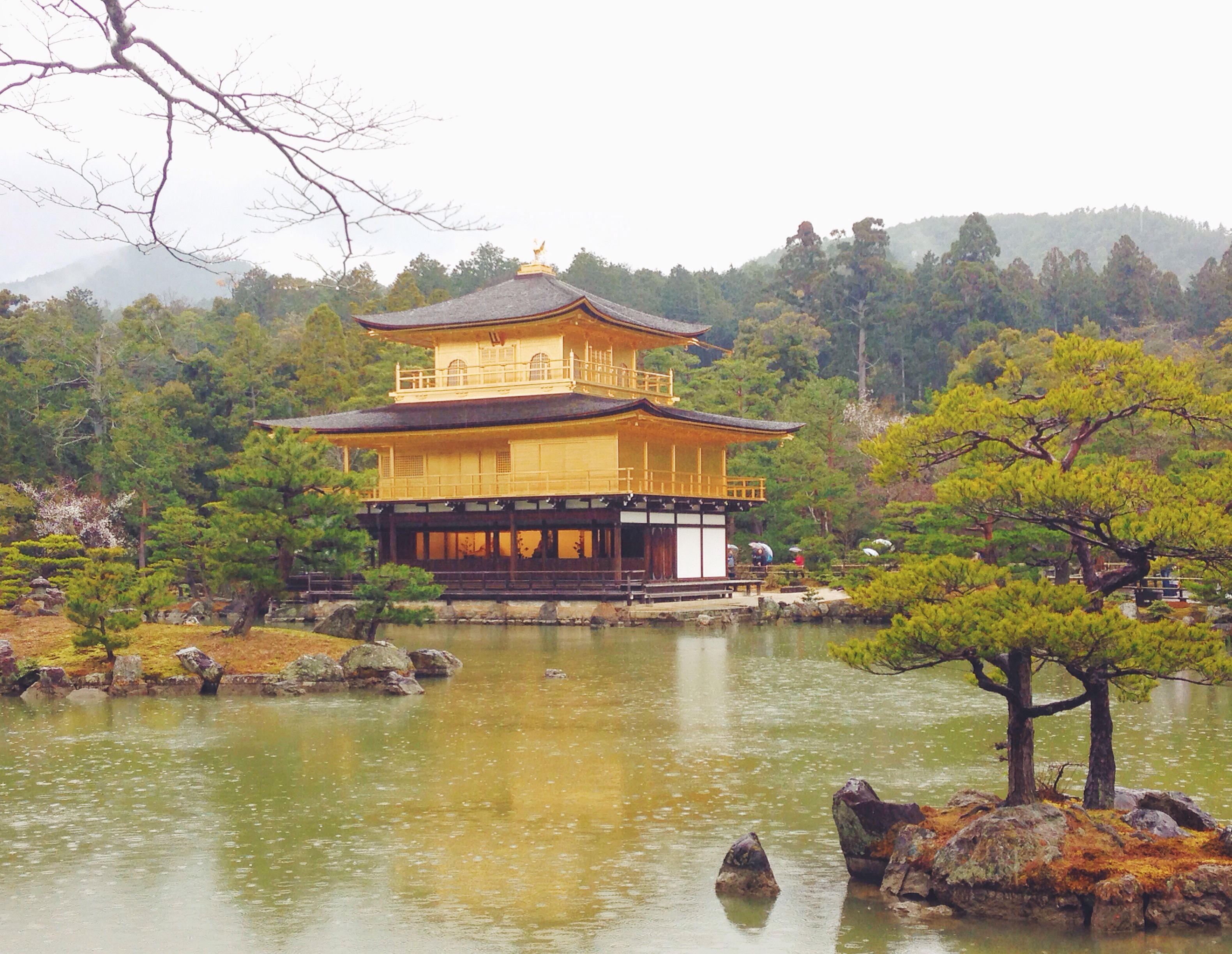 Il Kinkaku-ji o Padiglione d'oro