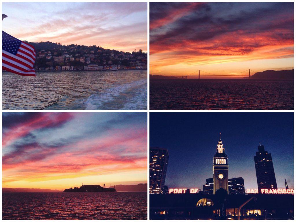 Da Sausalito a San Francisco in traghettoDa Sausalito a San Francisco in traghetto