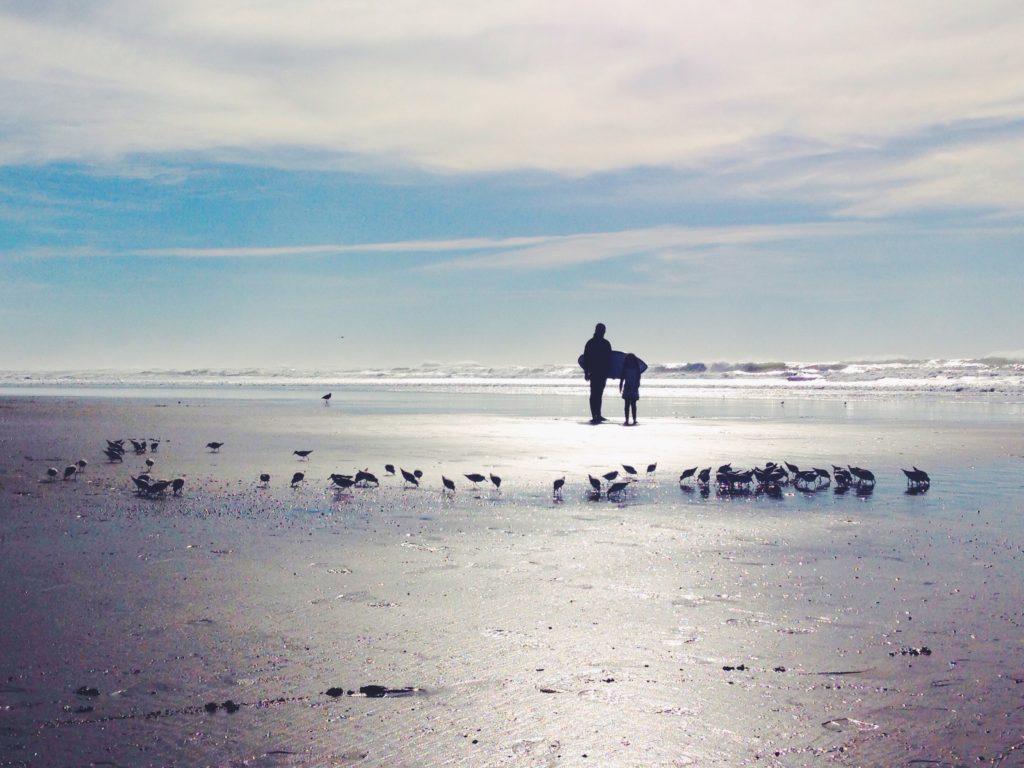 I surfisti a Ocean Beach - San Francisco - California