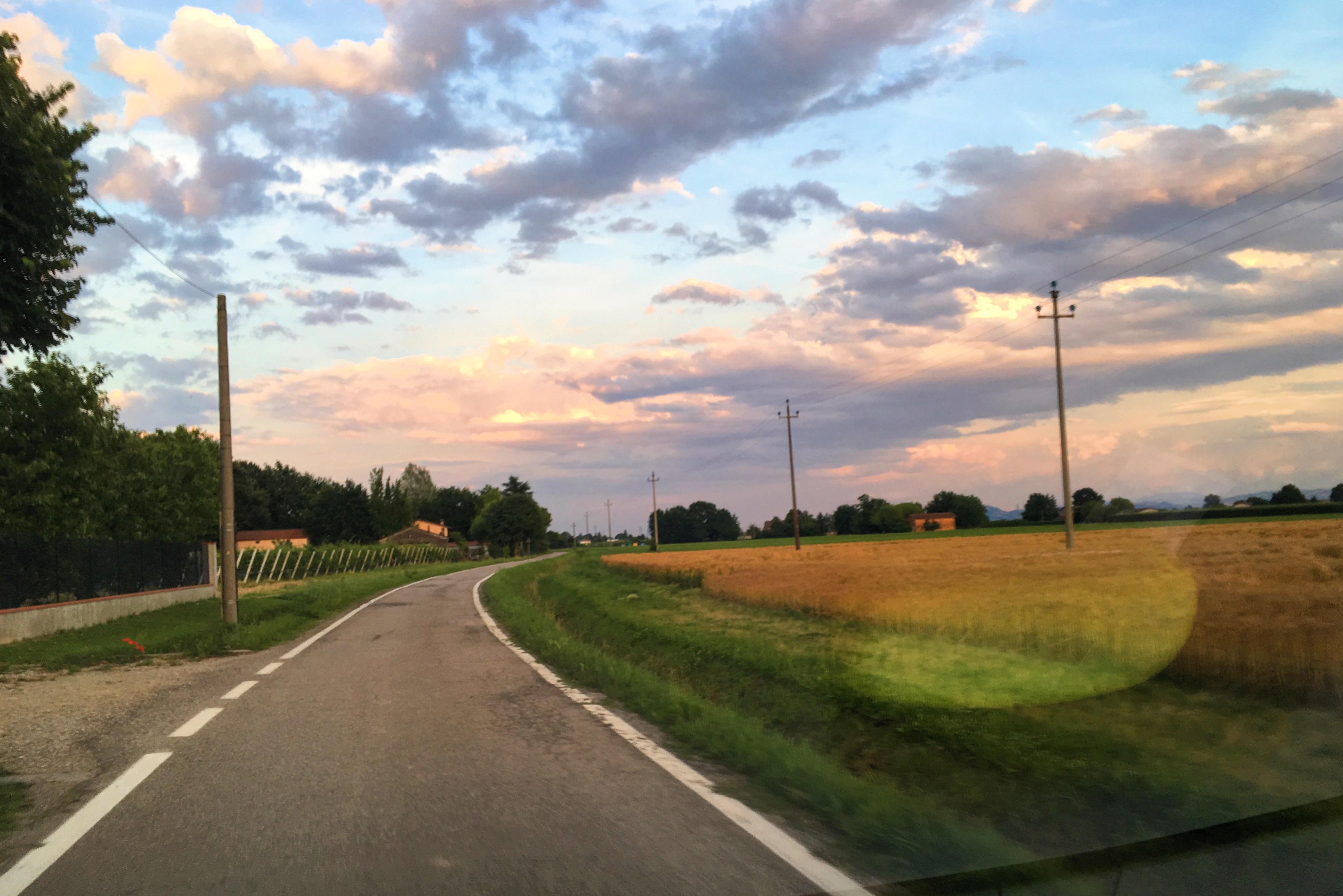 I tramonti romagnoli