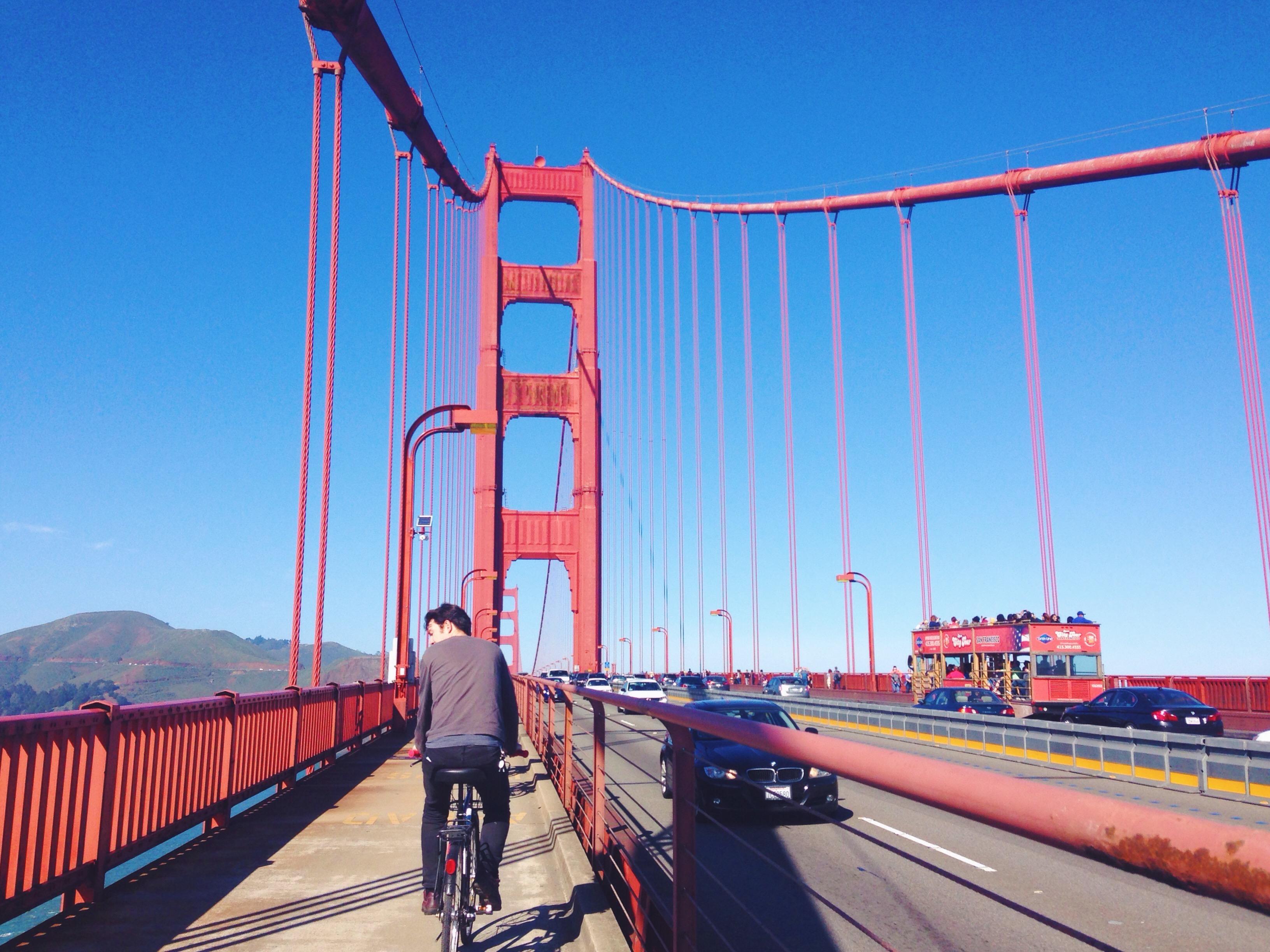 In bici sul Golden Gate da San FRancisco a Sausalito