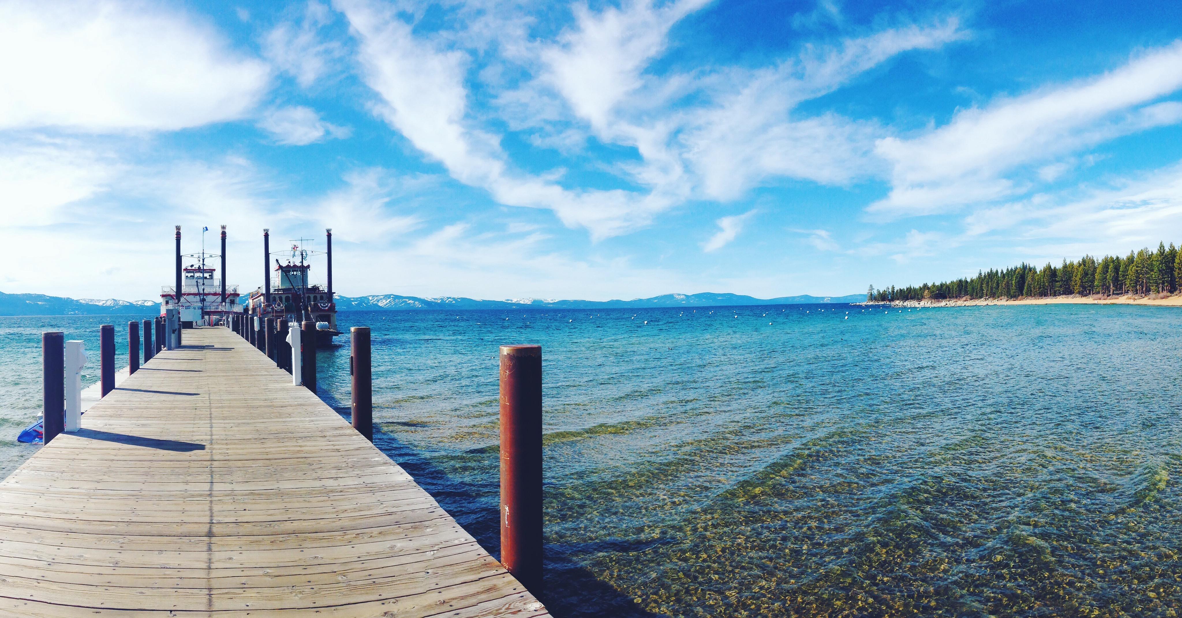 Lake Tahoe a febbraio