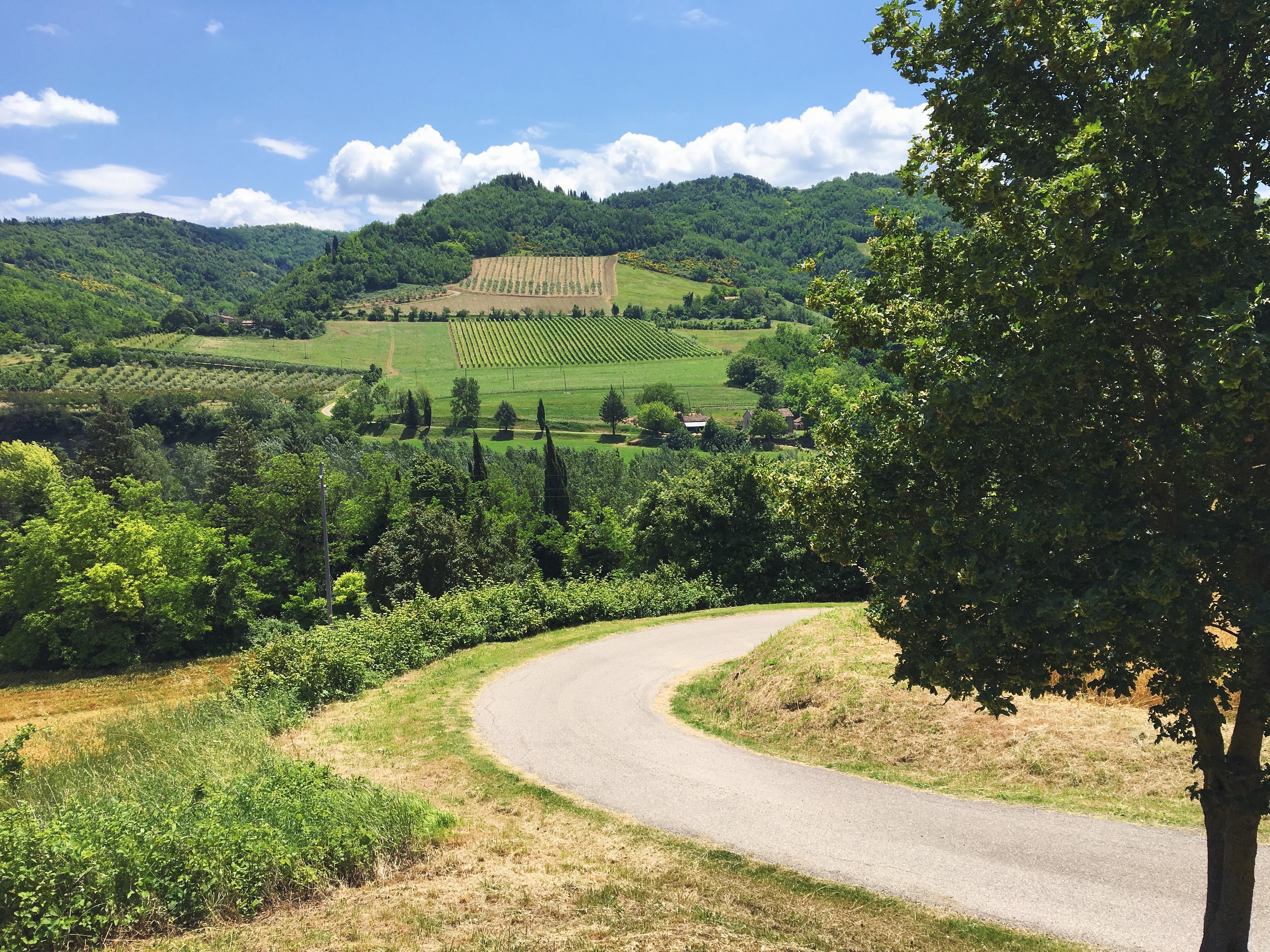 Le colline della romagna