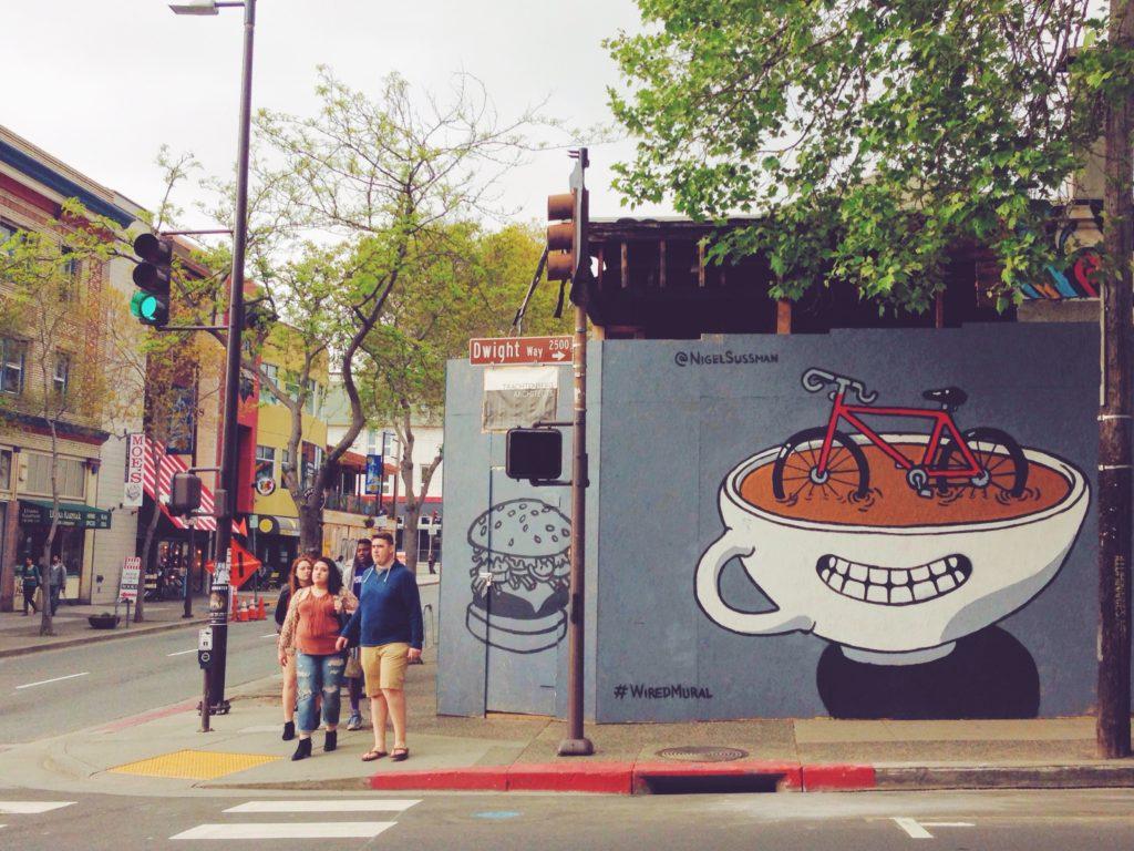 Per le strade di Berkeley