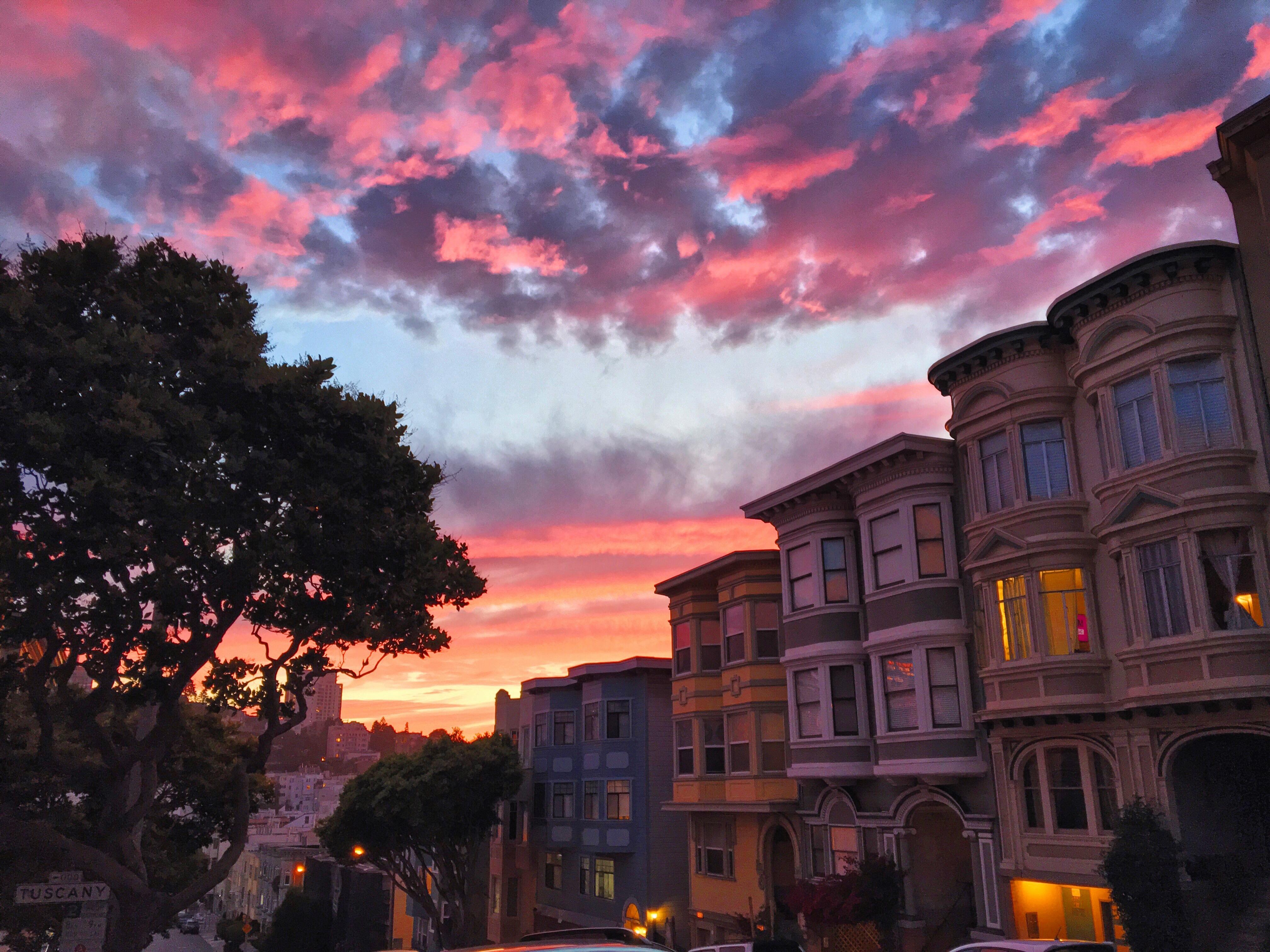 Tramonto su San Francisco