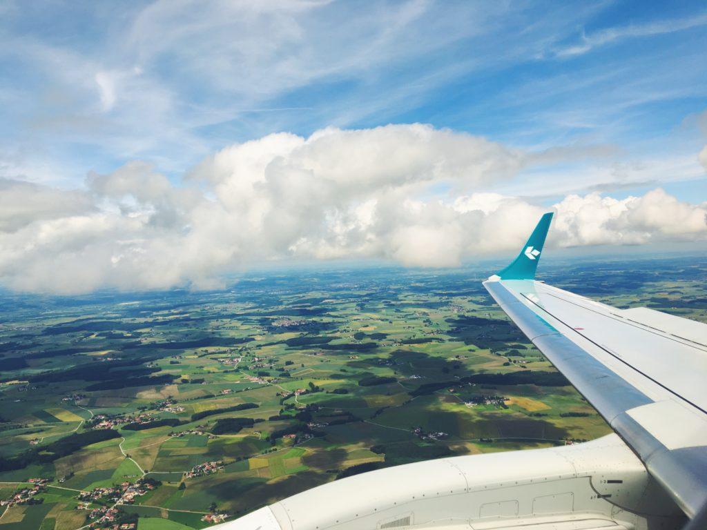 Volo Lufthansa dall'Italia a San Francisco