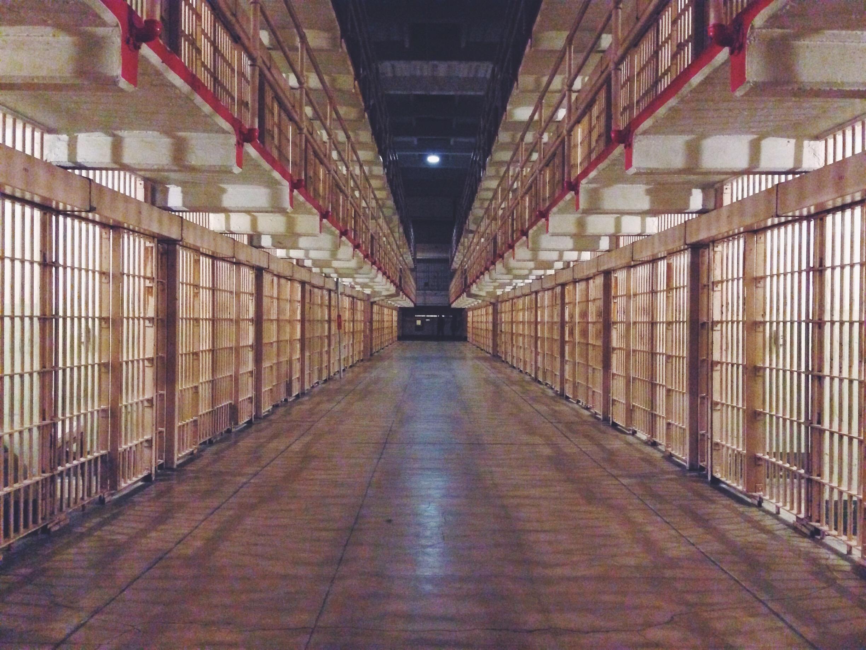 Alcatraz dall'interno