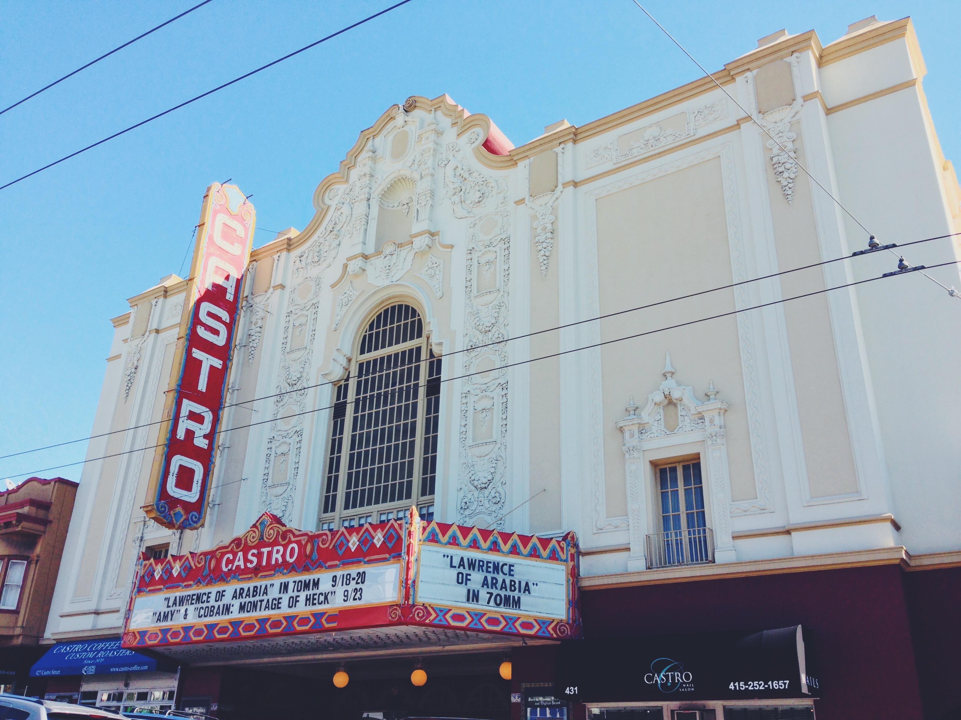 Castro Theatre - il quartiere gay di San Francisco