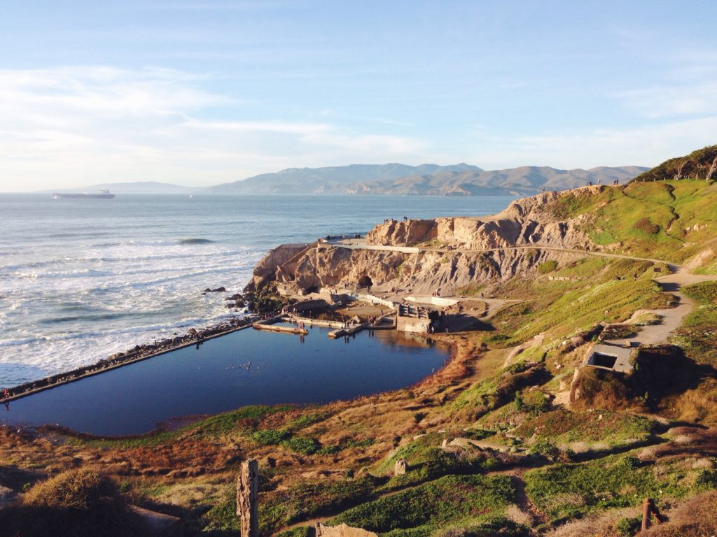 I Sutro Baths di San Francisco