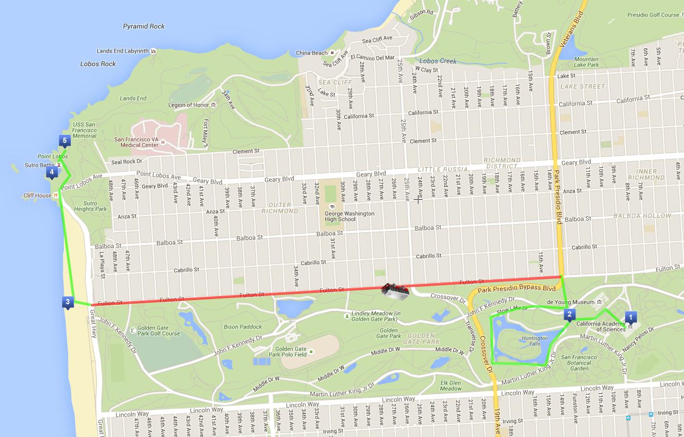 Il mio itinerario a piedi di 3 giorni a San Francisco - Giorno 3 - California Academy of Science, Golden Gate Park e Ocean Beach