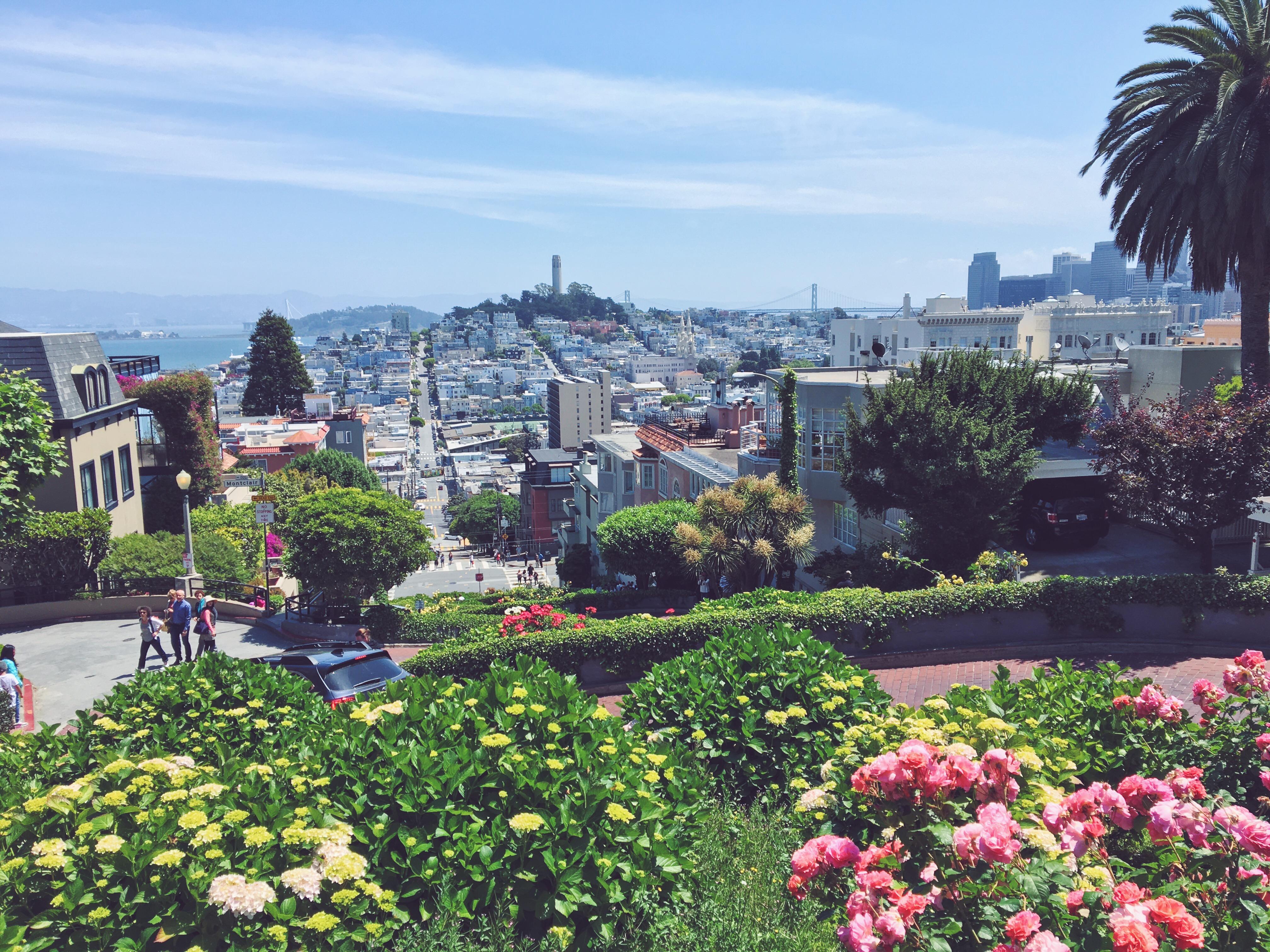 Lombard Street - la strada tutta curve di San Francisco