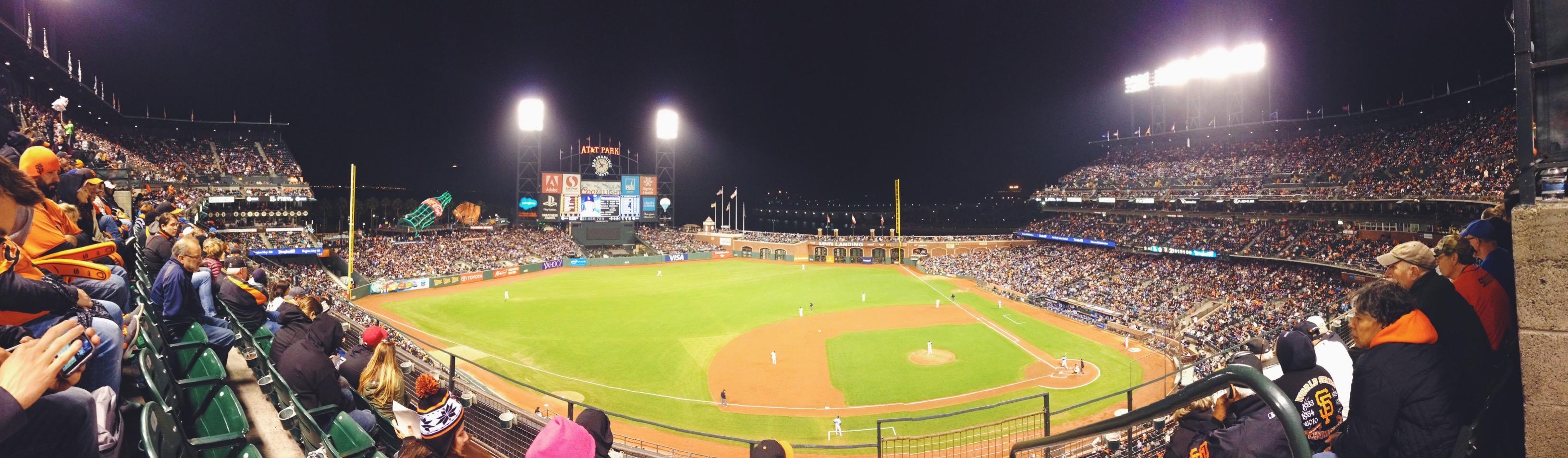 Vedere una partita dei Giants a San Francisco