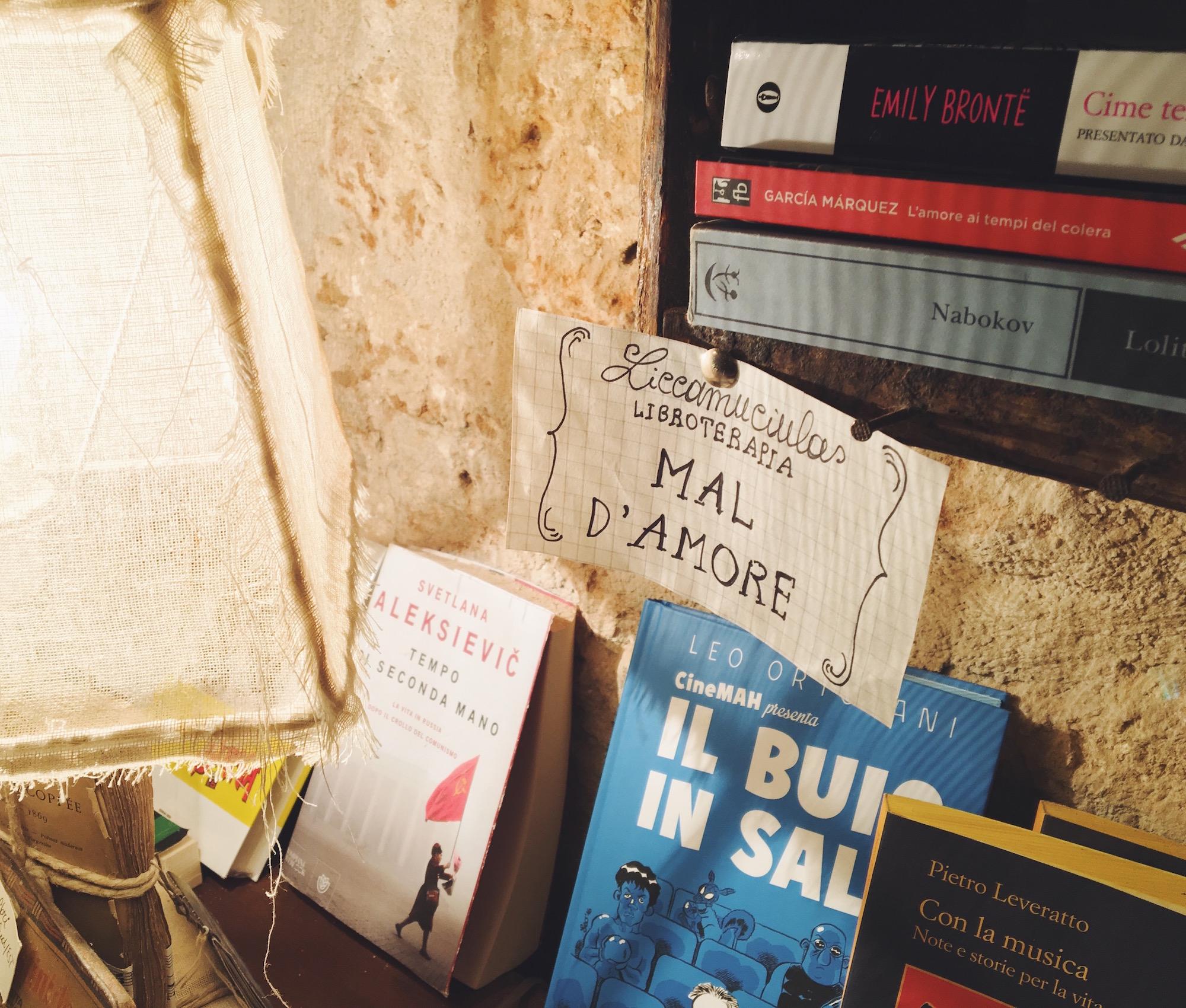 """""""La libroterapia è la migliore cura per il mal d'amore"""""""