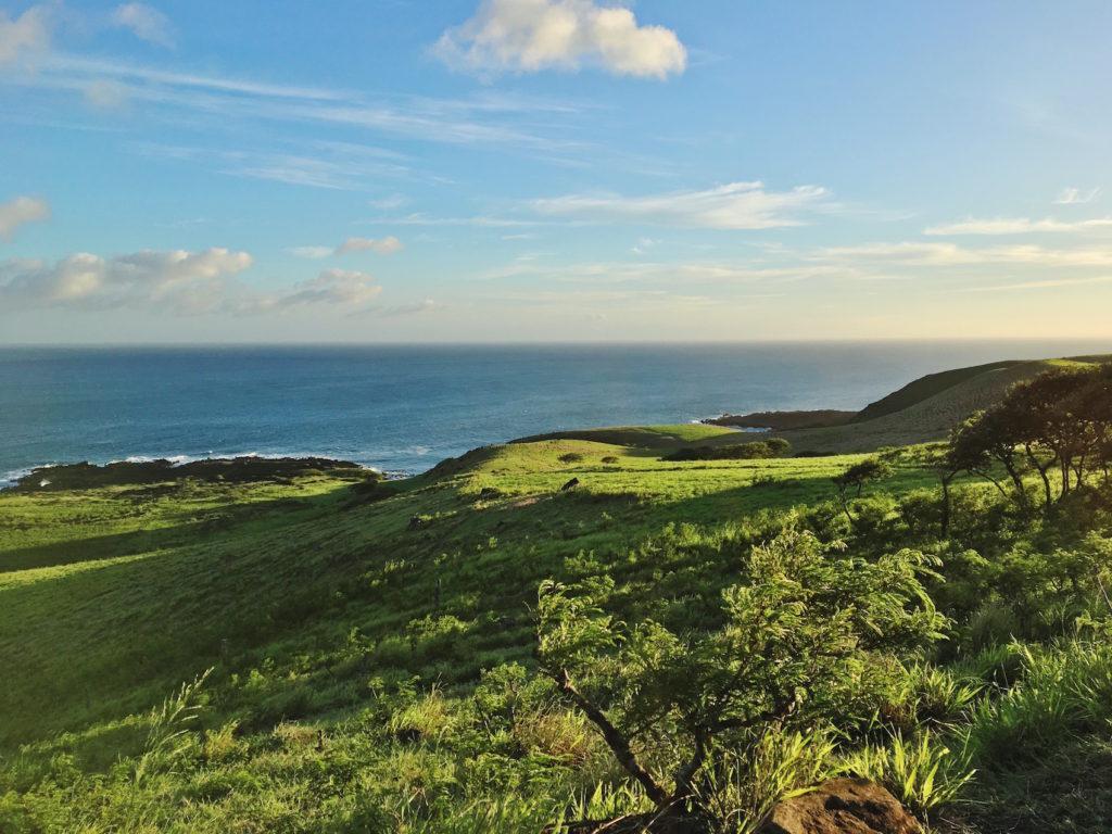 La fine della Road to hana di Maui - Hawaii