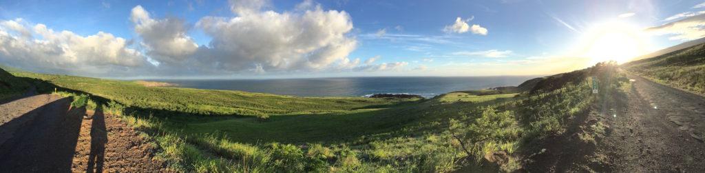 La vista sull'oceano - Road to hana di Maui - Hawaii
