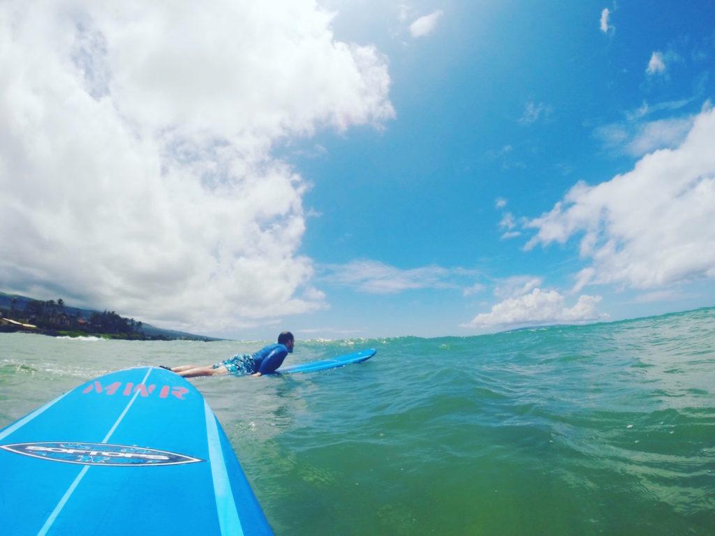 Un marito surfista