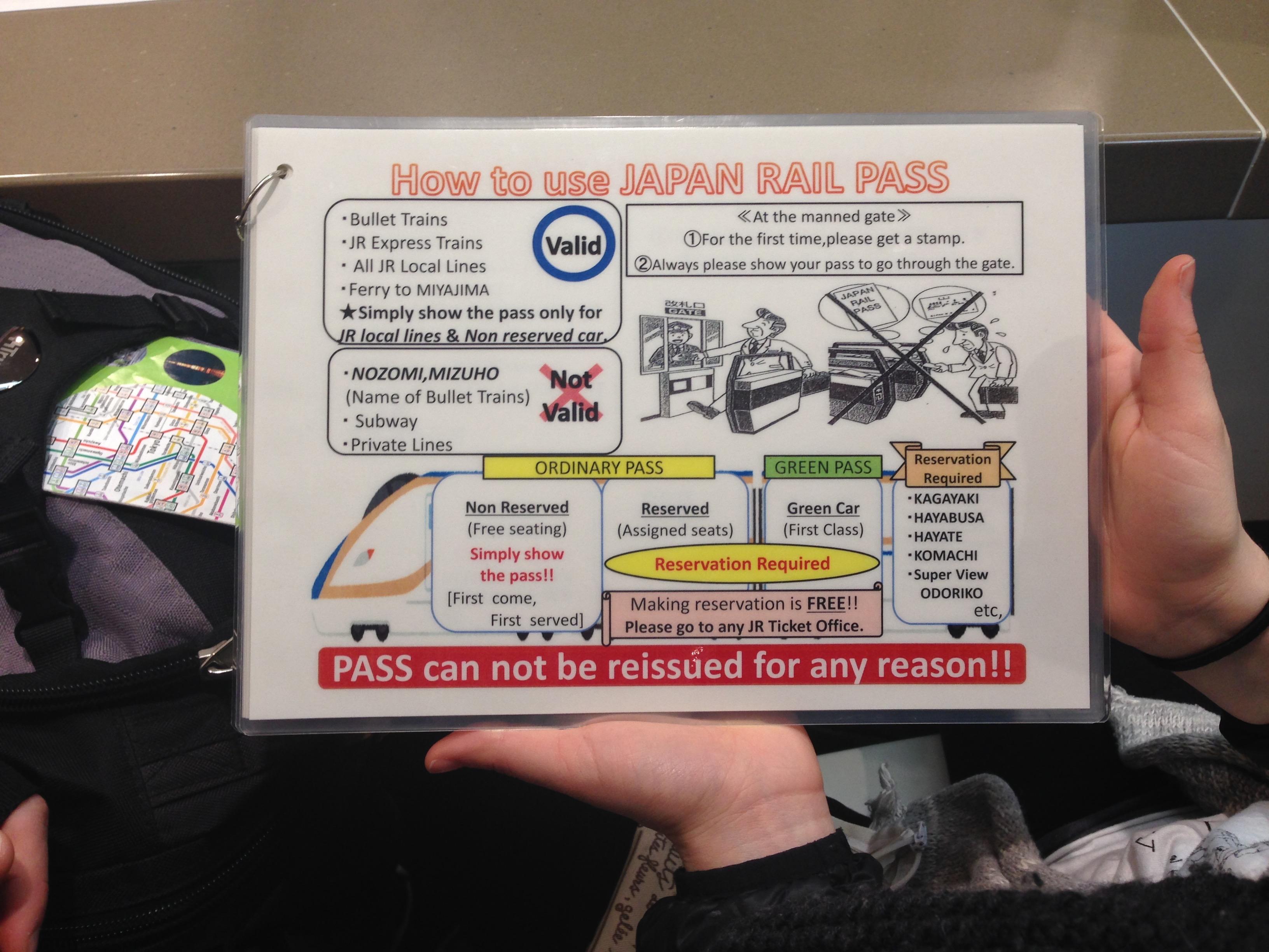 come-usare-il-japan-rail-pass