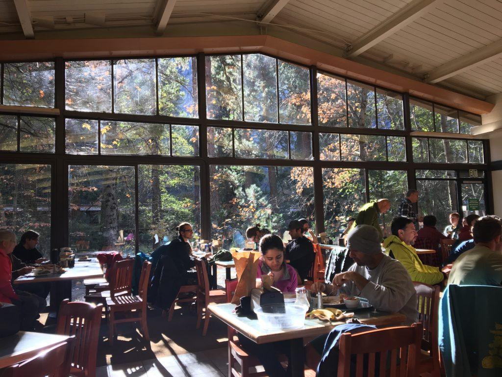 Dove mangiare dentro la Yosemite Valley - Yosemite National Park