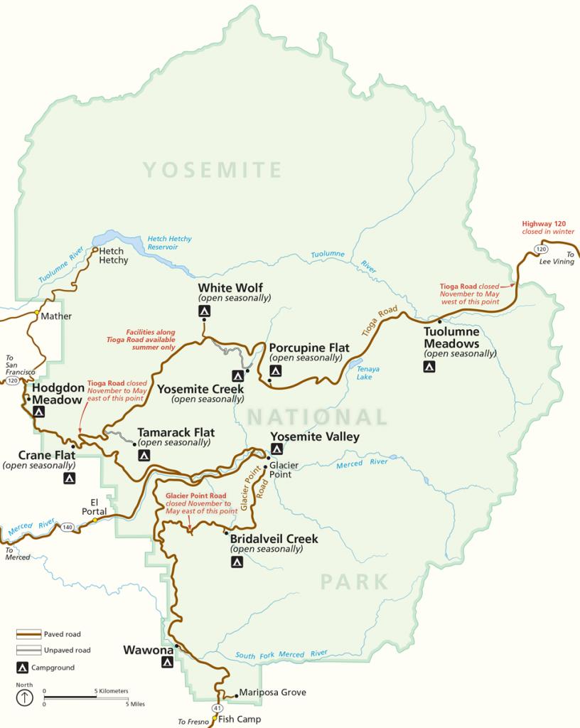 mappa-yosemite-national-park