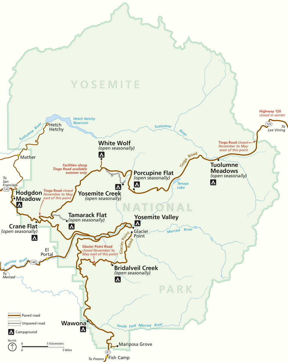 mappa-yosemite-national-park