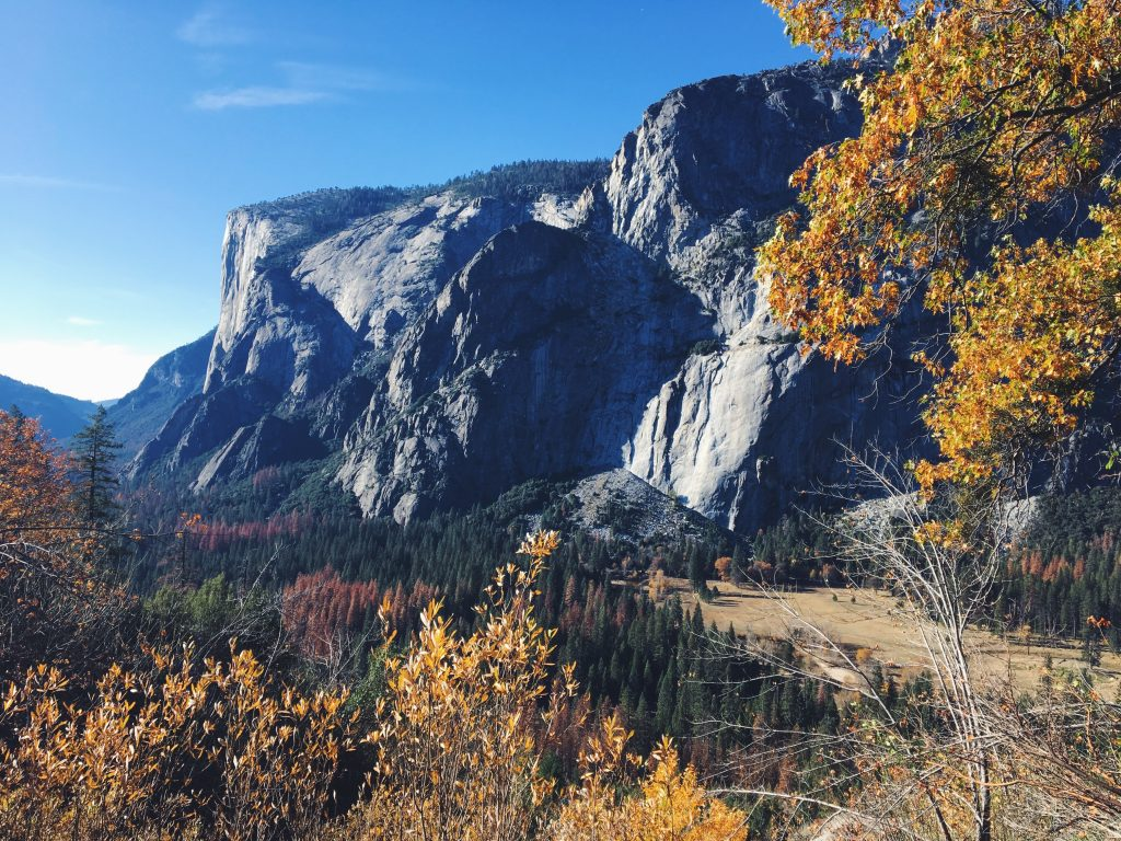 Yosemite National Park in autunno