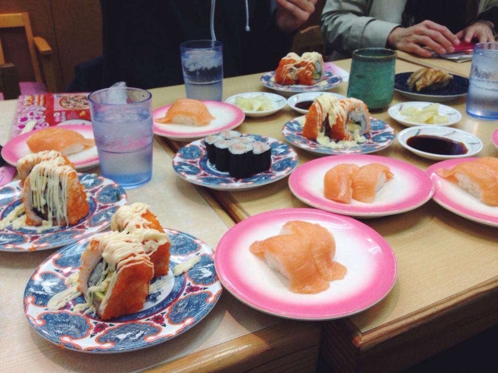 sushi in Giappone