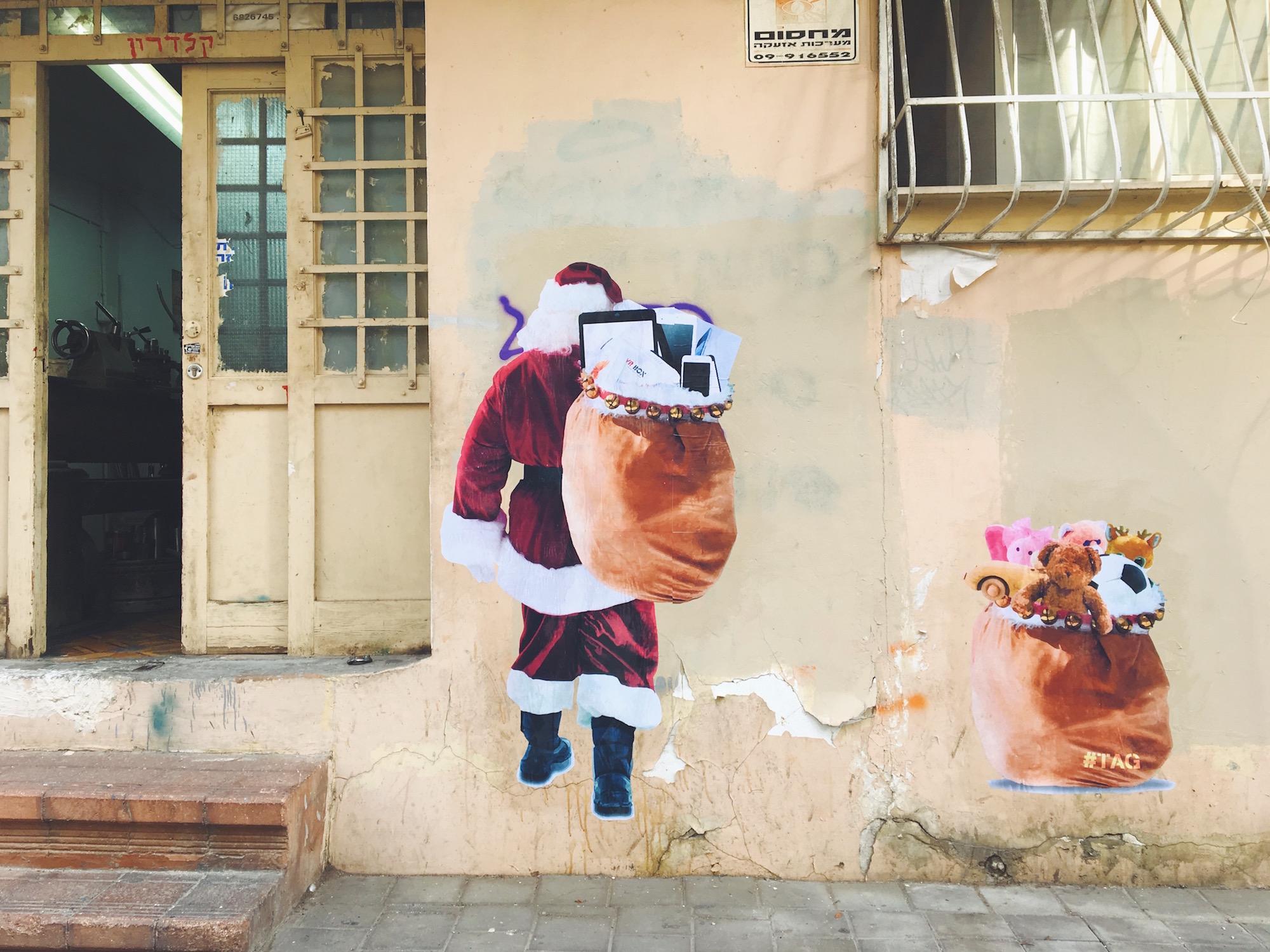 Graffiti e murales a Tel Aviv, Israele - Il quartiere Florentin