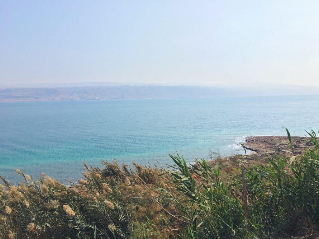 Il Mar Morto dal lato di Israele