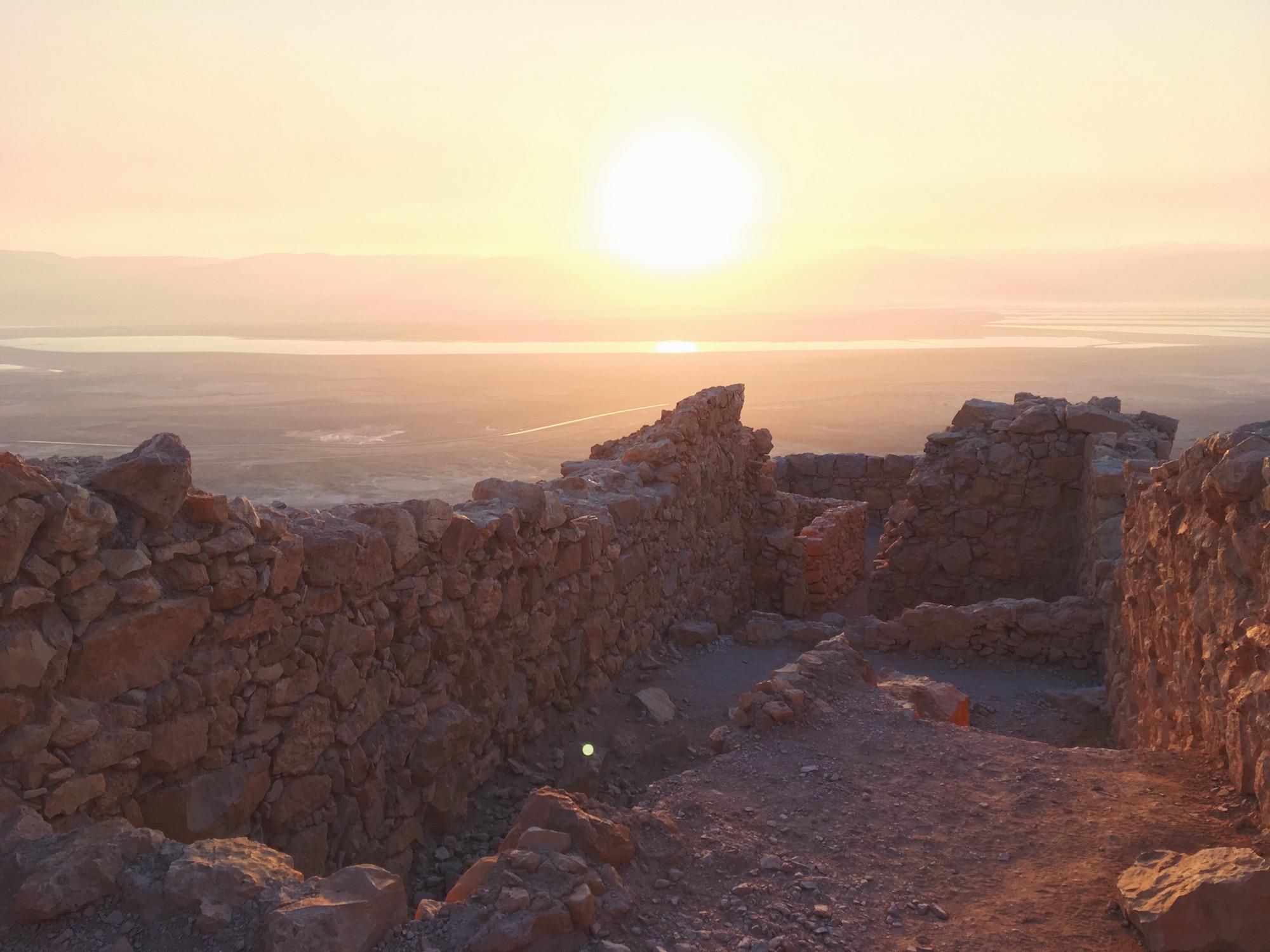 La fortezza di masada - Israele