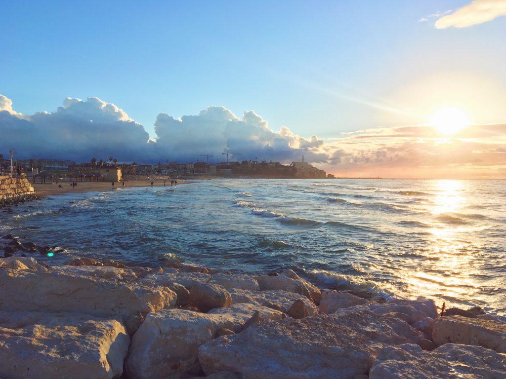 La spiaggia e il lungomare di Tel Aviv - Israele