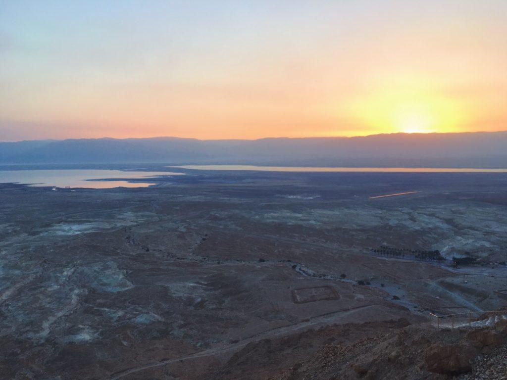 L'alba da Masada - Israele