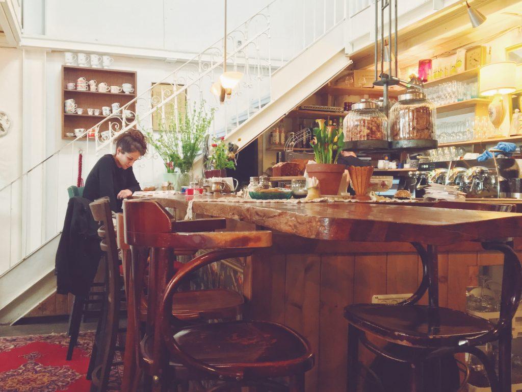 Un cafè bellissimo a Tel Aviv - Jaffa