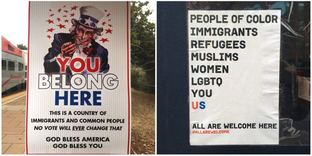 A San Francisco le minoranze più rilevanti sono quella asiatica e quella messicana, a New York quella afroamericana.