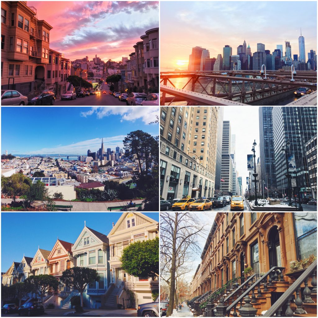 Le differenze (che vedo io) tra San Francisco e New York