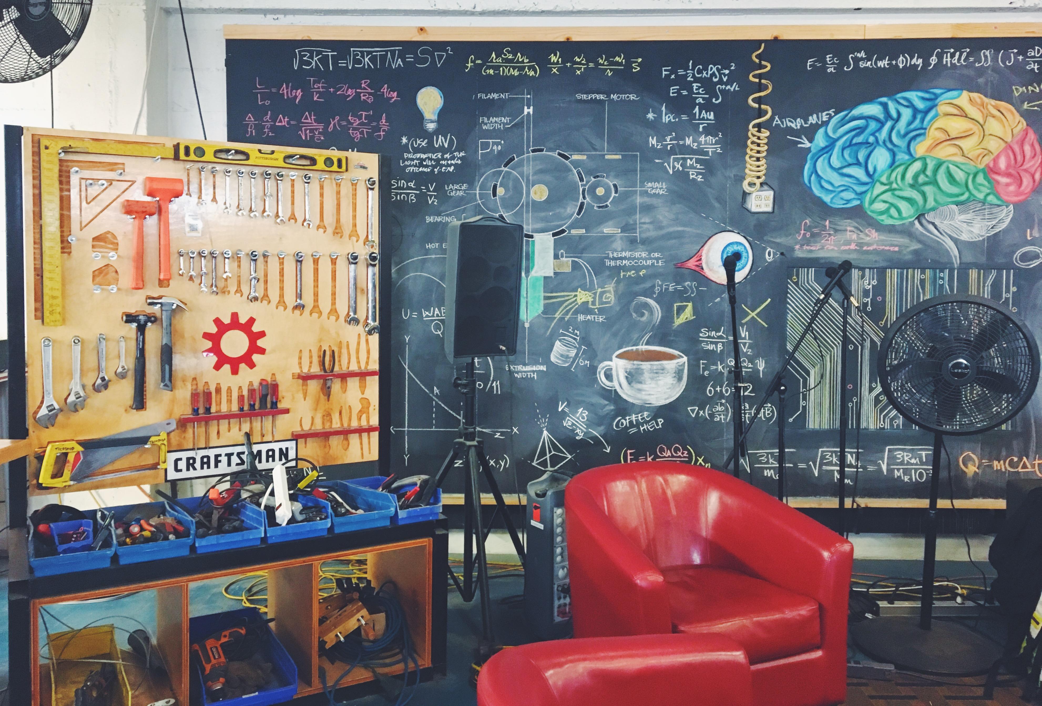 TechShop di San Francisco - maker space