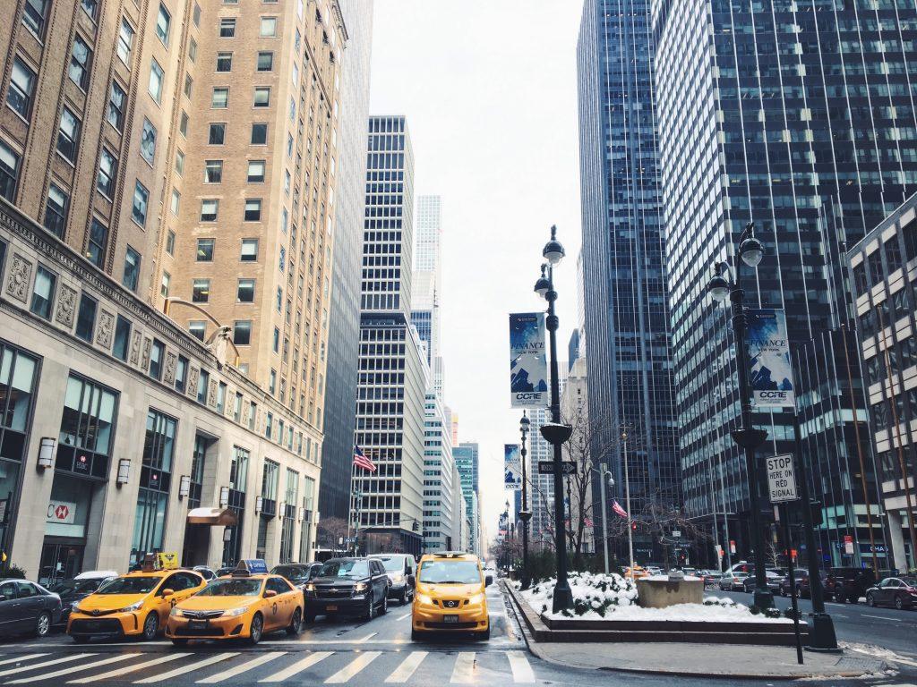 A piedi tra i grattacieli di New York