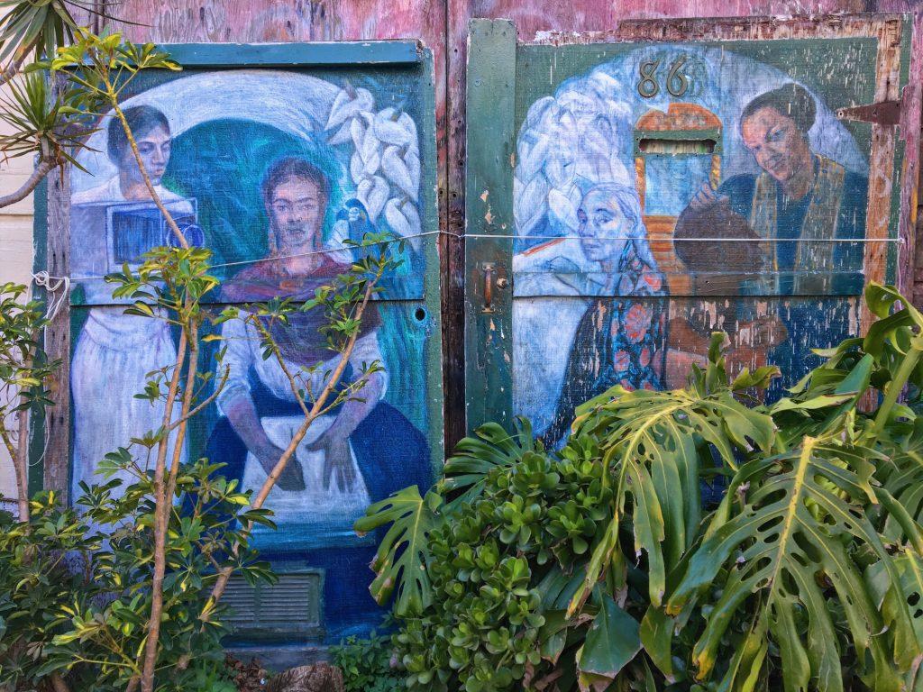 Balmy Alley - Murales nel quartiere Mission di San Francisco - Las Milagrosas (2001) - Mary Nash