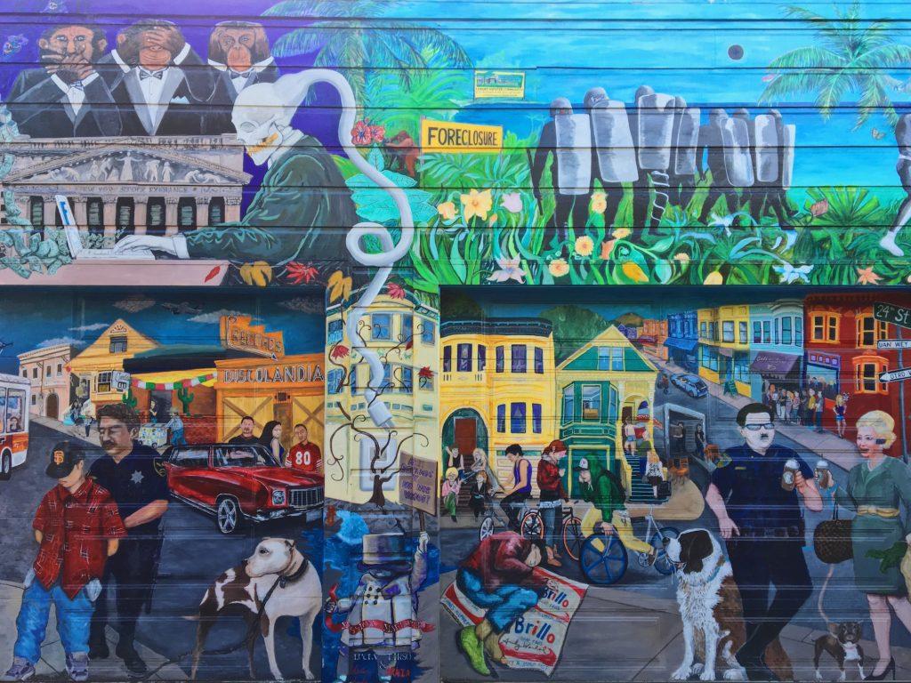 Balmy Alley - Murales nel quartiere Mission di San Fracisco - Mission Makeover - 2014 - Tirso Araiza, Lucia Ippolito