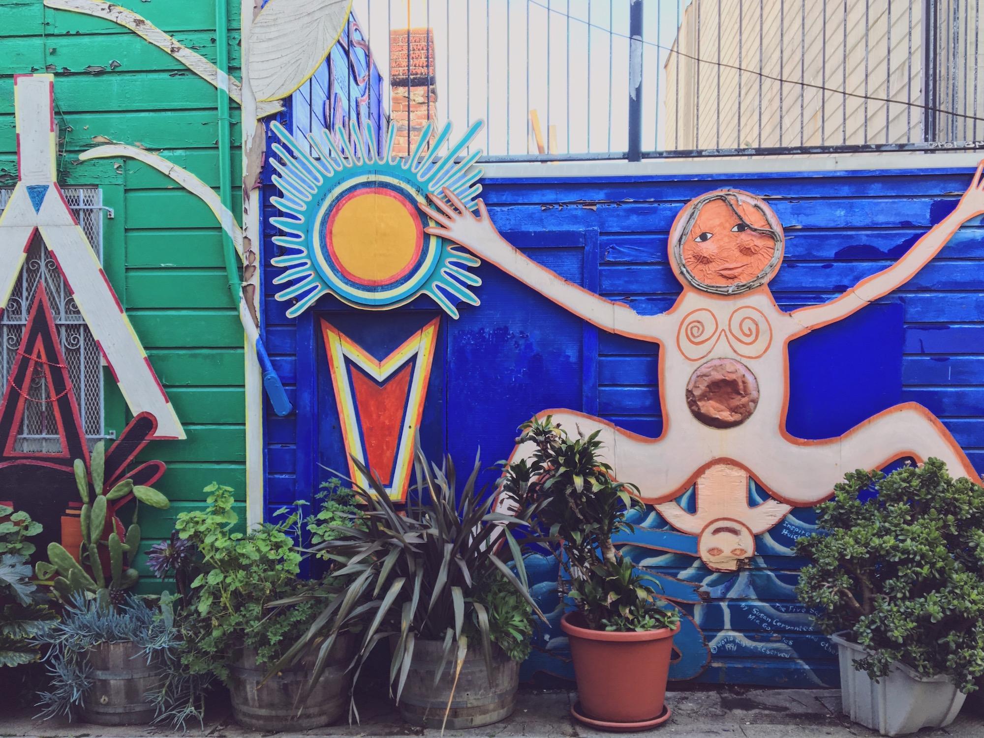 Balmy Alley - Murales nel quartiere Mission di San Francisco - Unknown 2