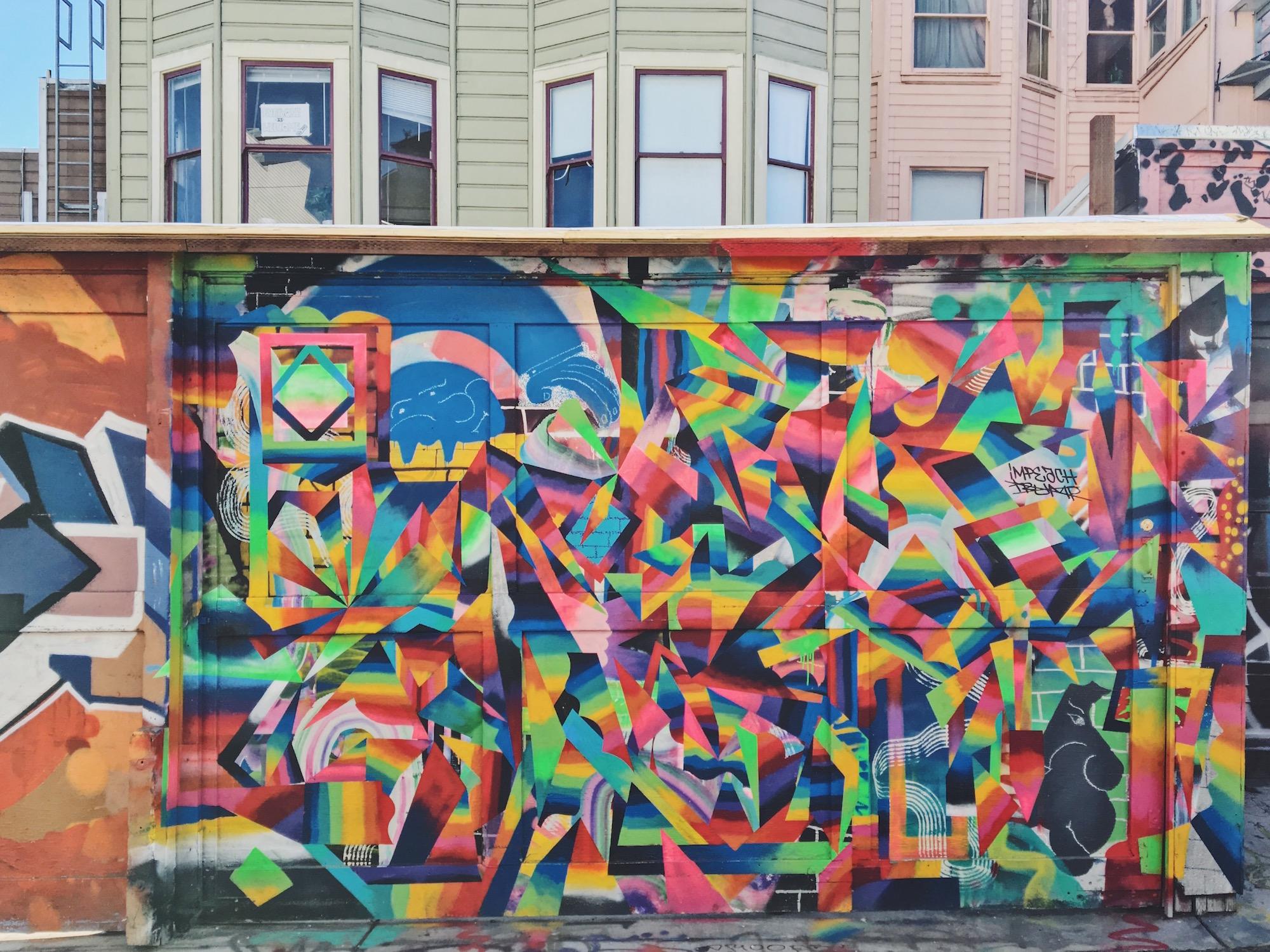 Clarion Alley - Murales nel quartiere Mission di San Francisco -