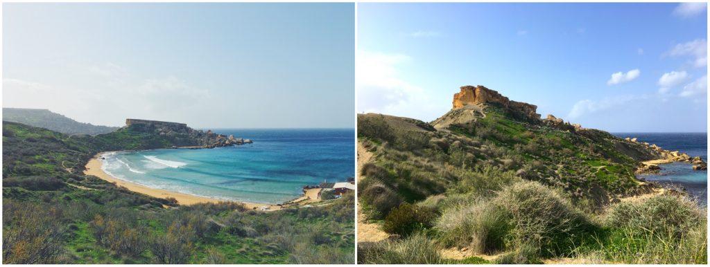 Golden Bay e Ghajn Tuffieha, le spiagge più belle di Malta