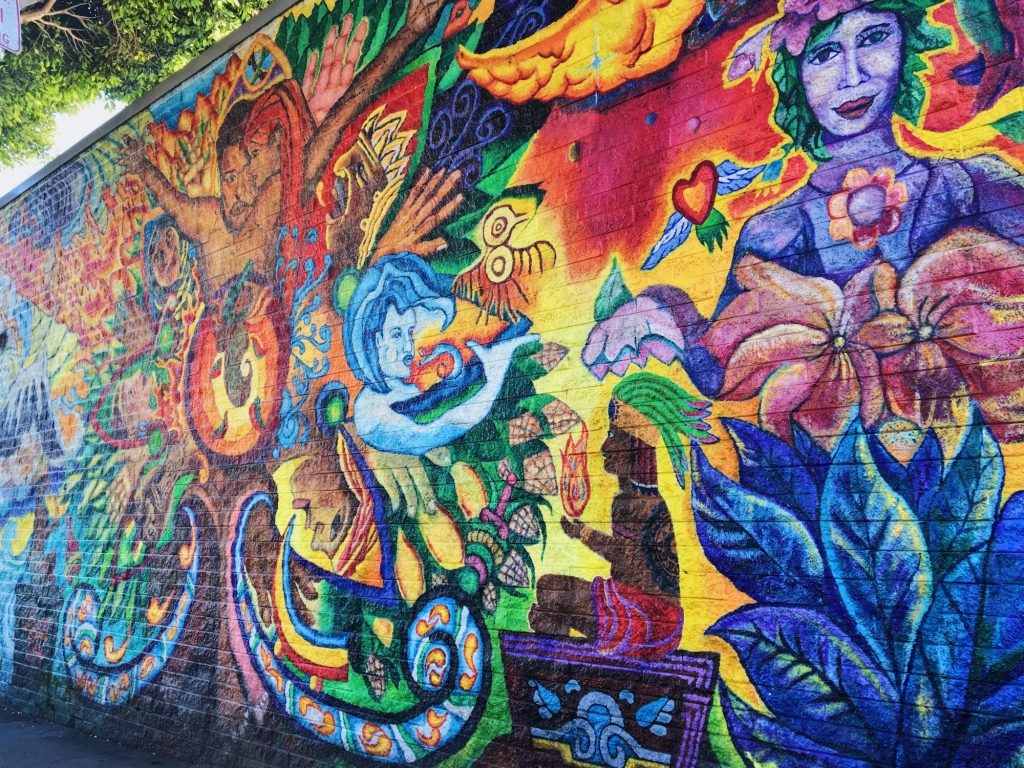 I murales di Mission a San Francisco - Mother Earth