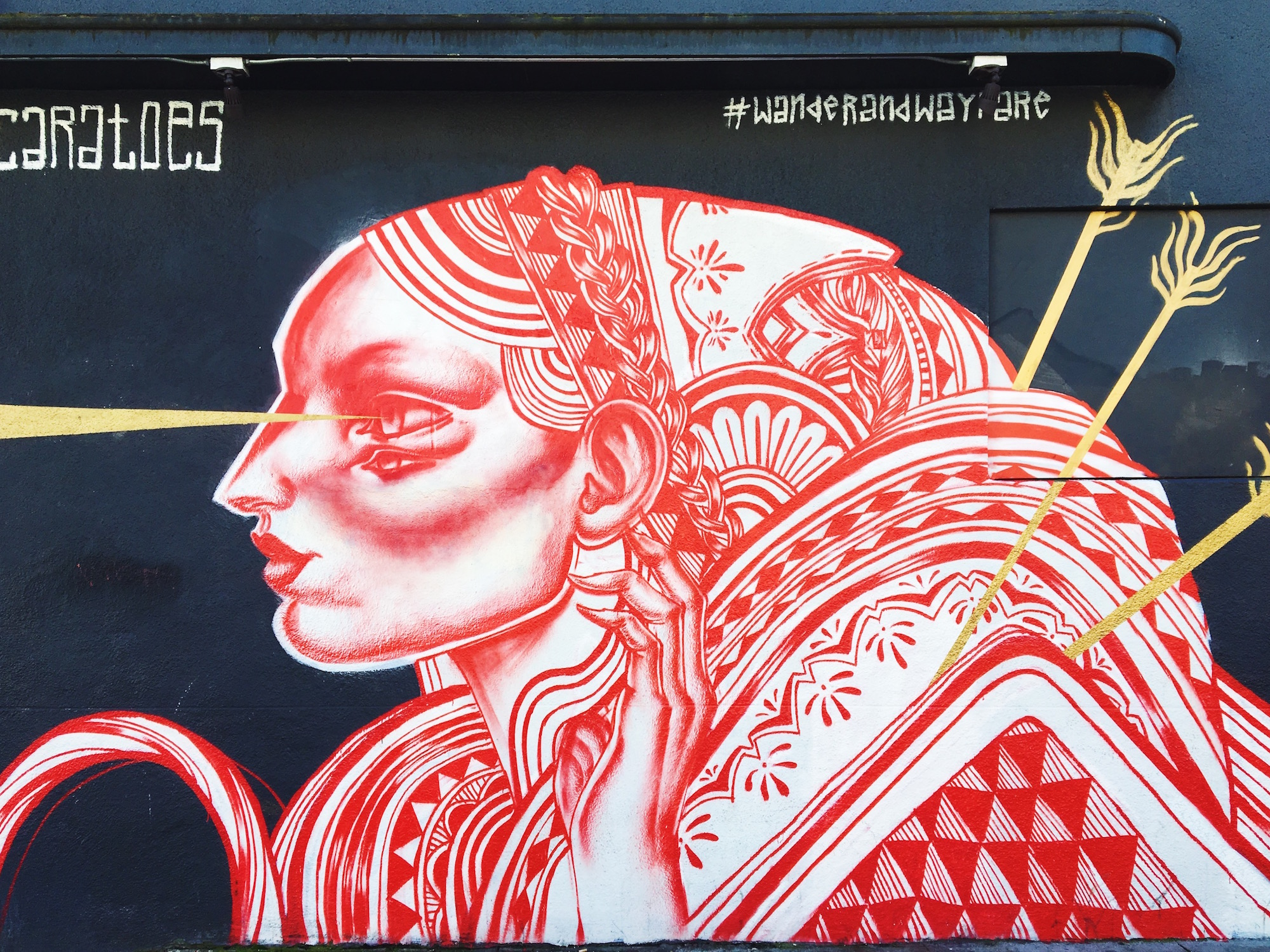 I murales di Mission a San Francisco - Unknown (2015) - 15th at Valencia - by Caratoes