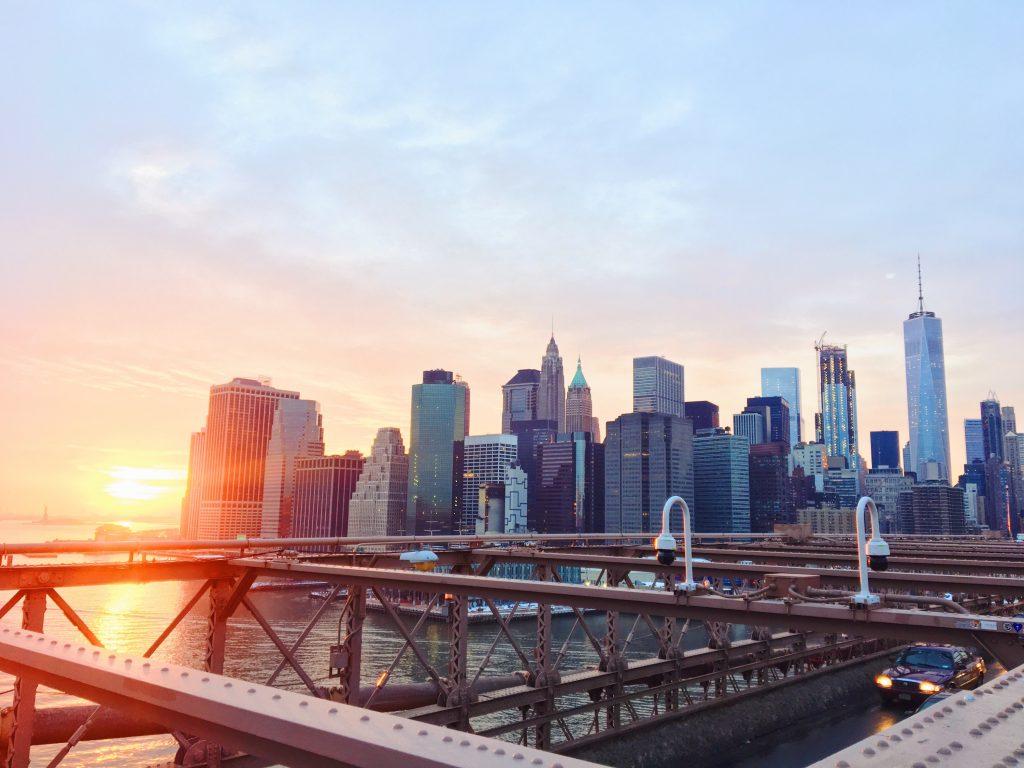 Il più bel tramonto di New York