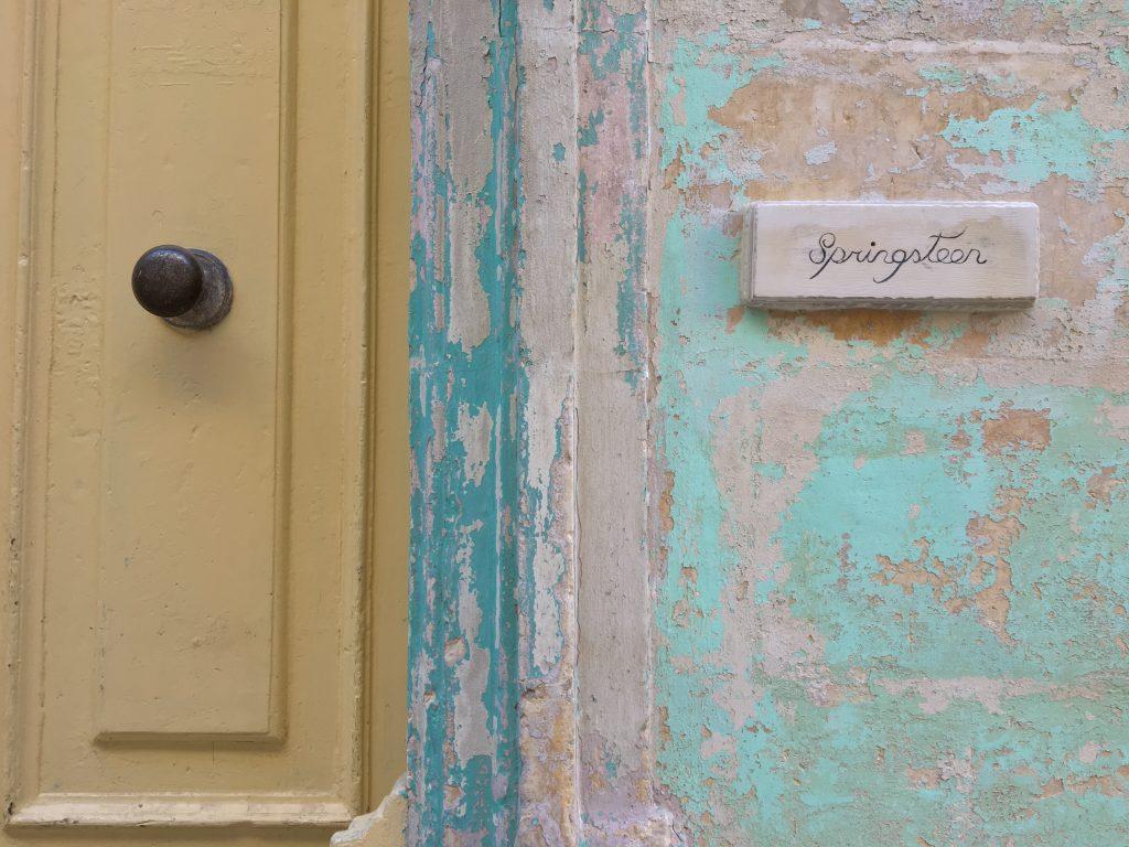 La casa di Springsteen - ma no Bruce - a Malta