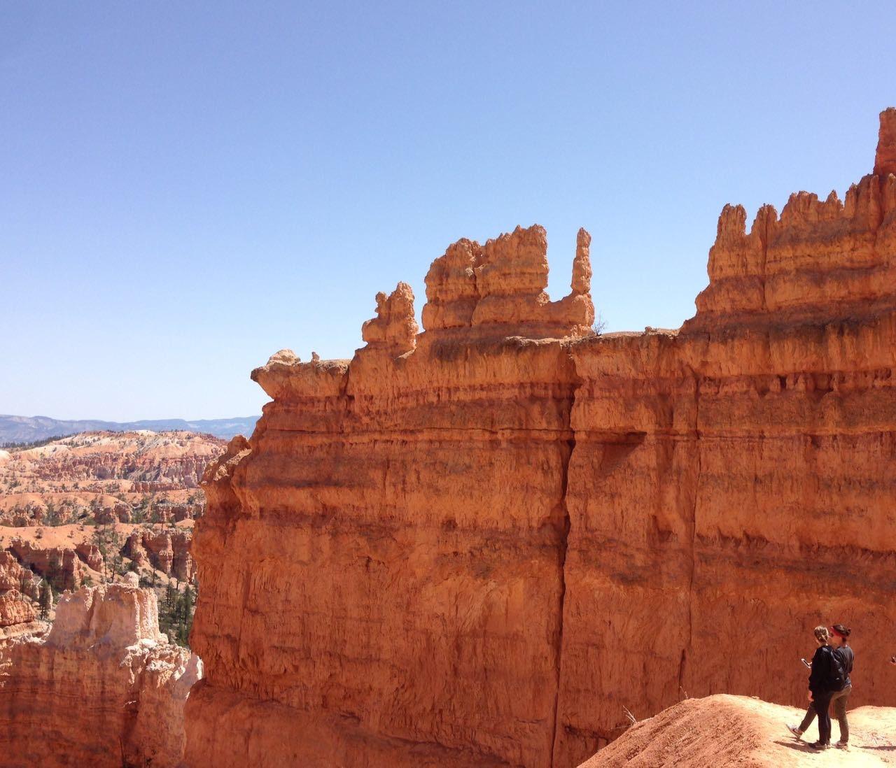 I pinnacoli enormi del Bryce Canyon