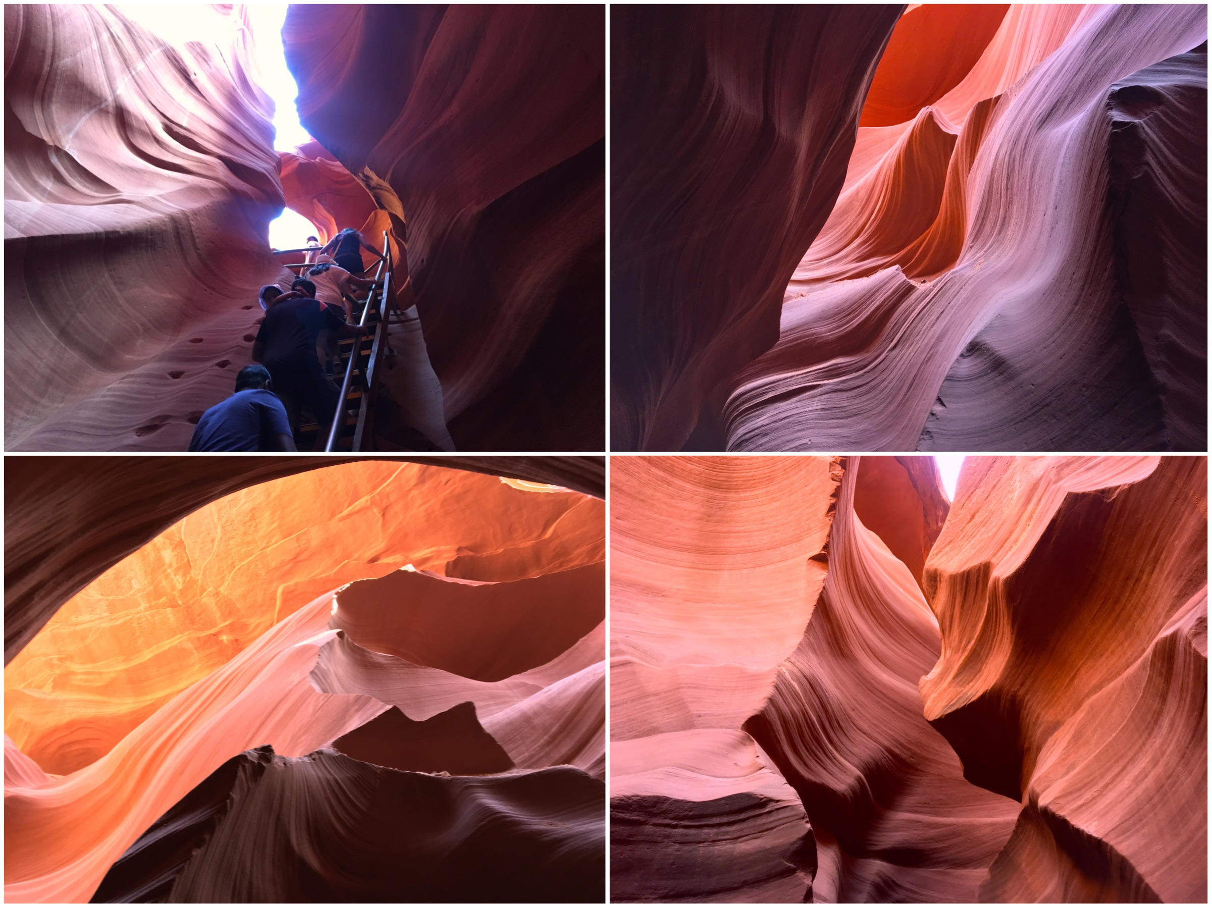 Entrare nel Lower Antelope Canyon